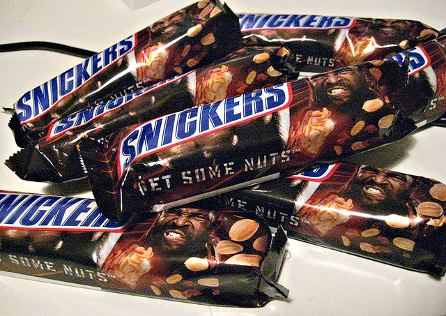 Pile of Snickers Bars