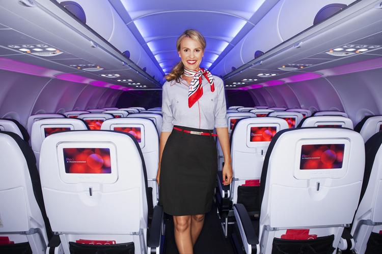Virgin America Flight Attendant