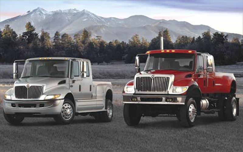 Two international Trucks