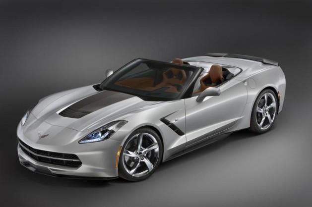 Grey Corvette Stingray