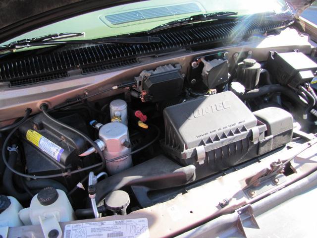 Underneath a car's hood