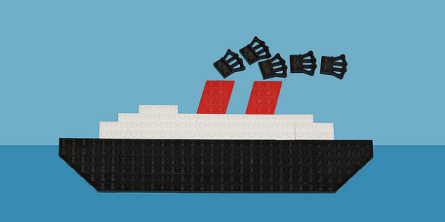 Lego cruise ship
