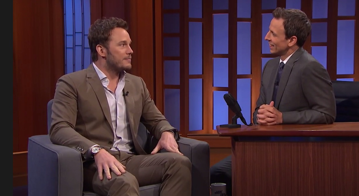Chris Pratt & Seth Meyers