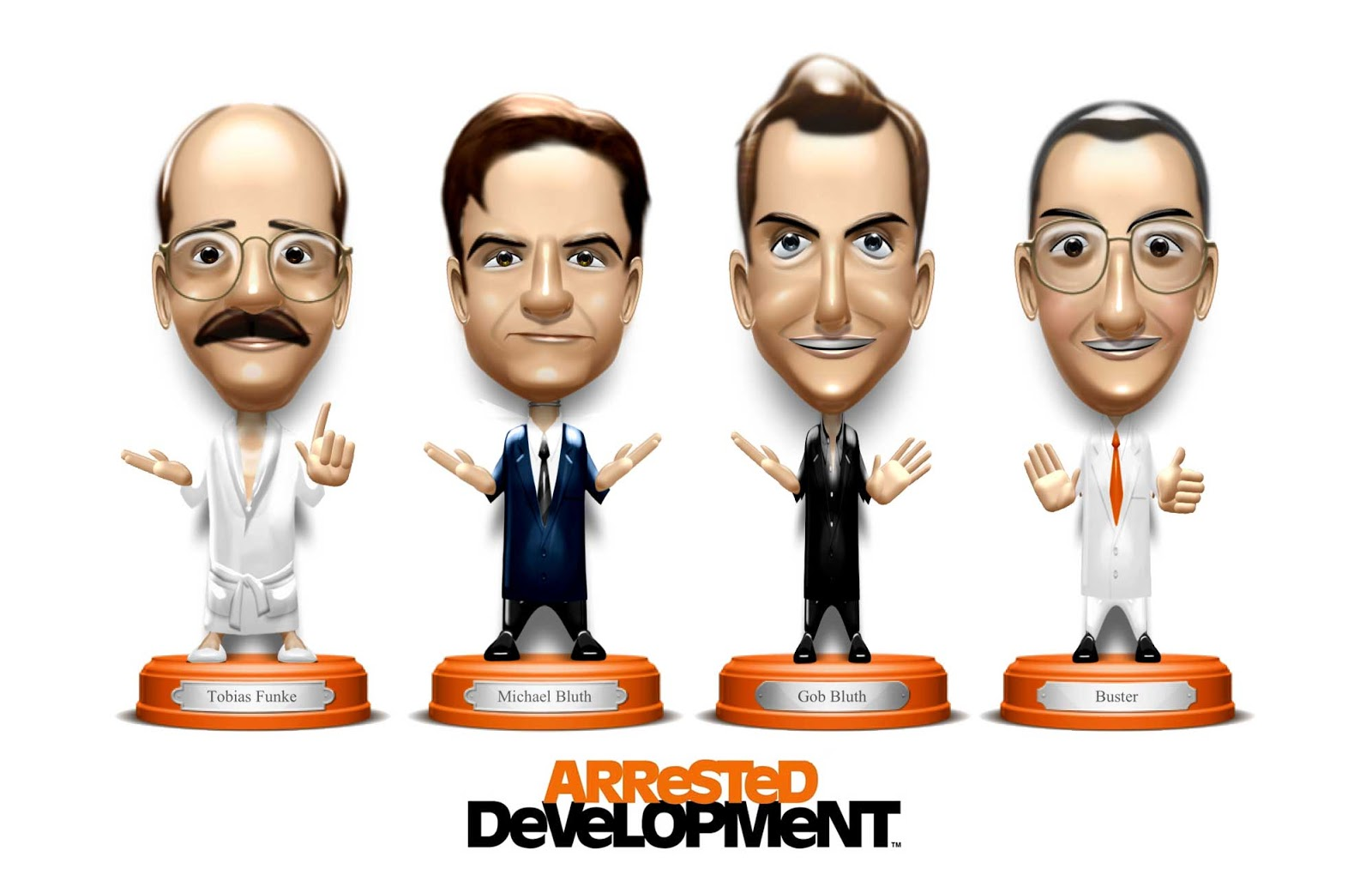 Arrested Development Bobble heads