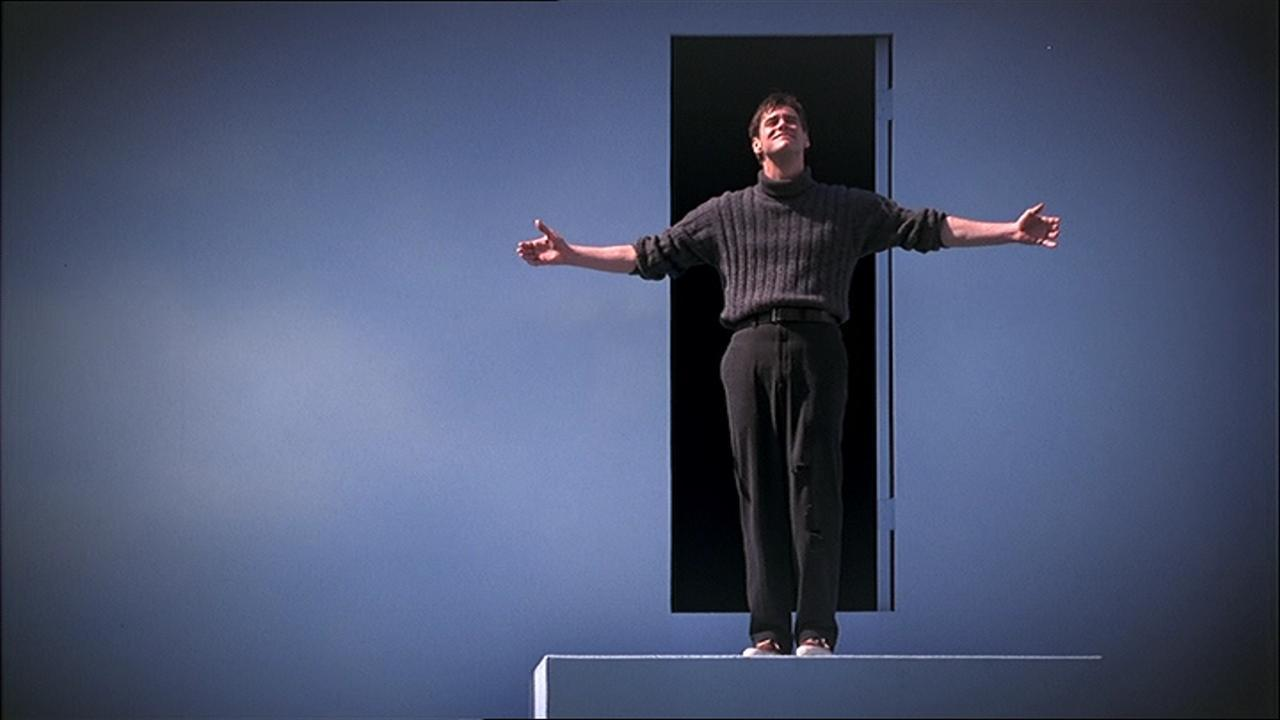 Jim Carry in The Truman Show