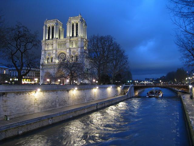Paris waterway