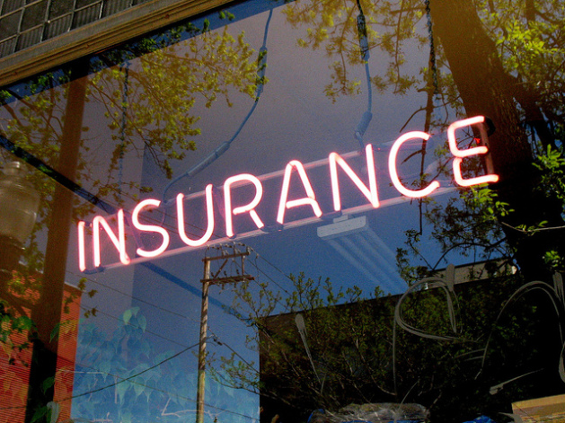 Neon Insurance Office Sign