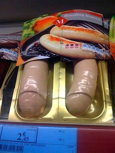 Uncircumcised suasages