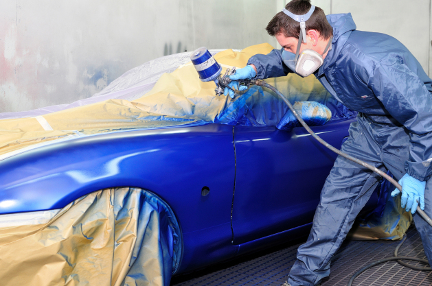 Average Cost To Repaint A Car