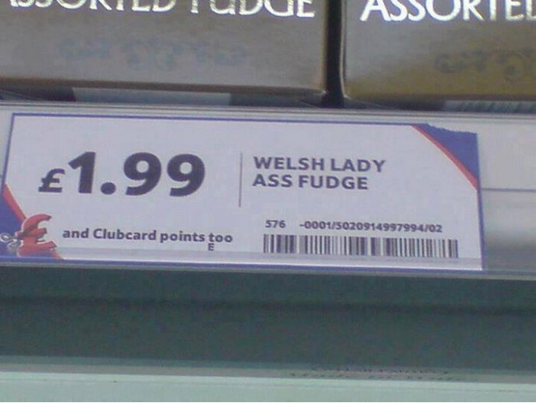 Welsh Lady Ass Fudge