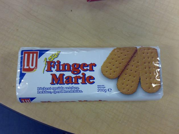 Finger Marie Cookies