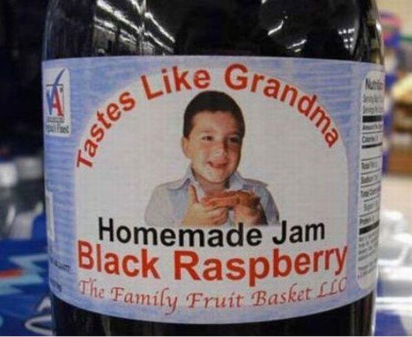 Black raspberry jam that tastes like grandma