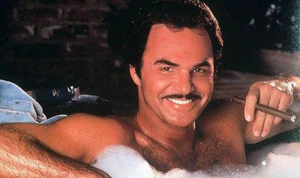 Burt Reynolds in hot tub