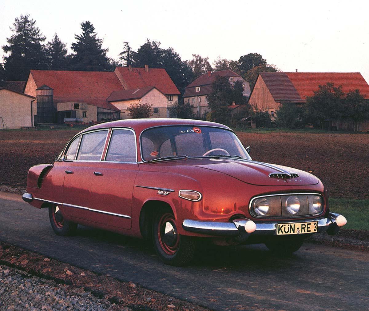 Red 1960 Tatra 601