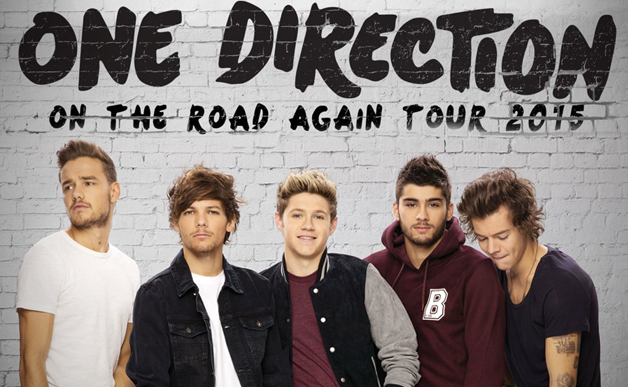 One direction tour promo