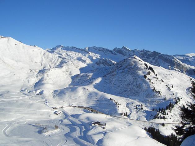 Morzine France ski slopes ski resort