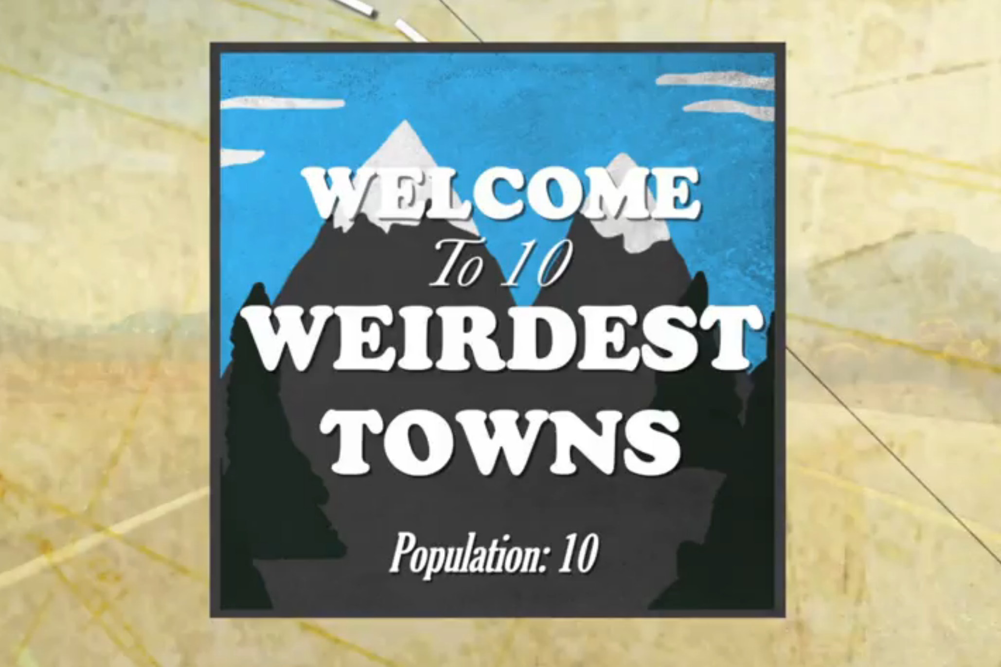 10 most bizarre towns on earth