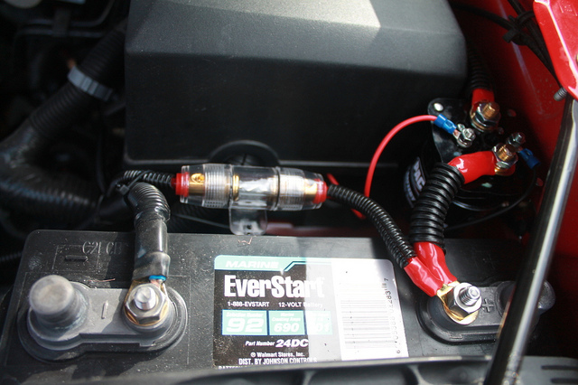 Car Battery Fire Protector