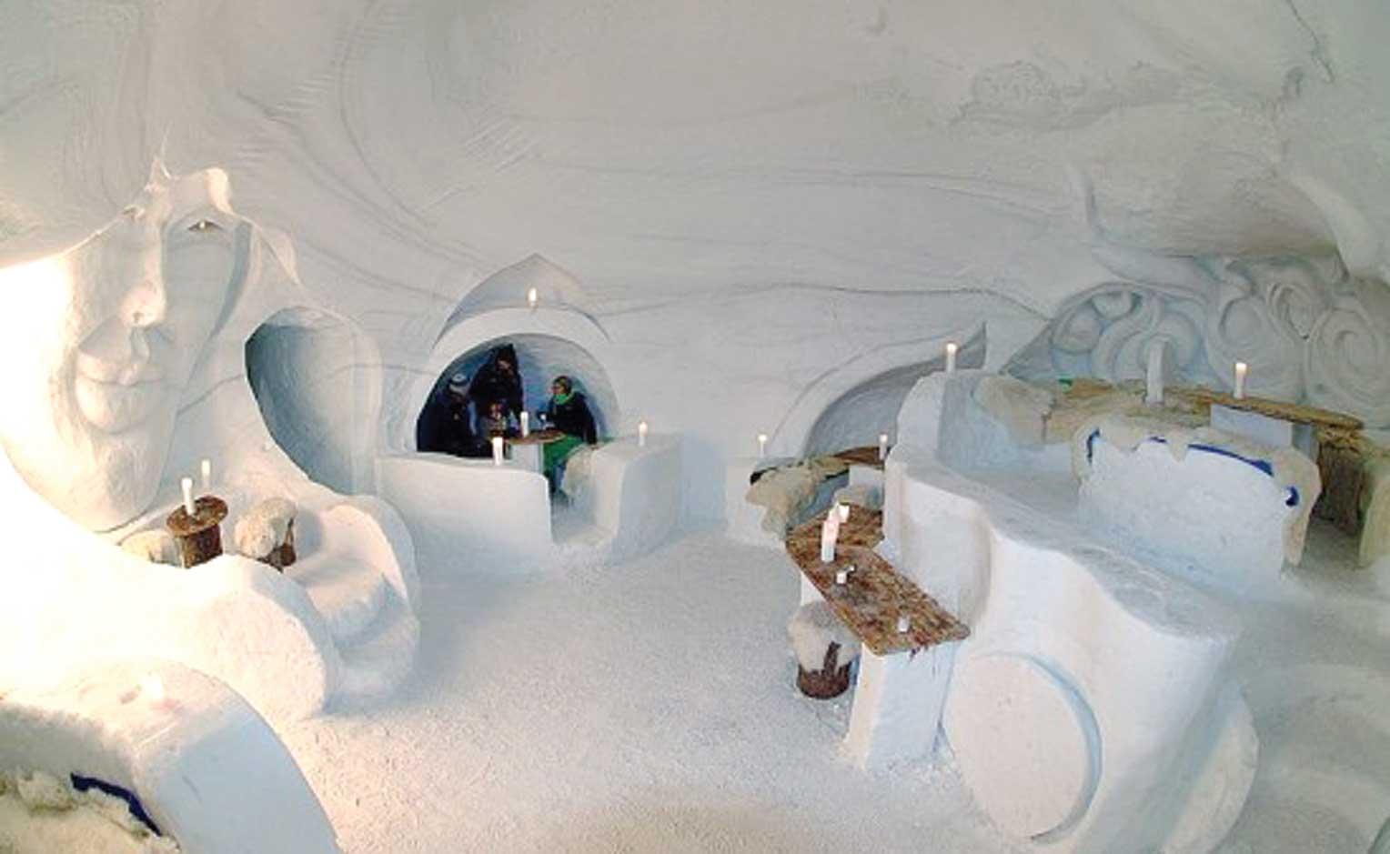 Iglu-Dorf hotel interior