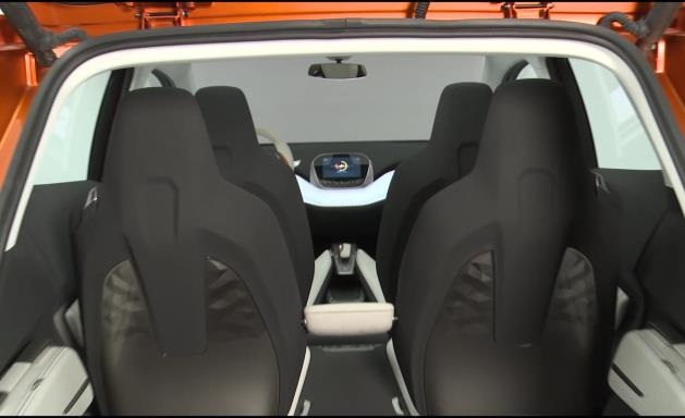 interior of the chevy bolt concept car