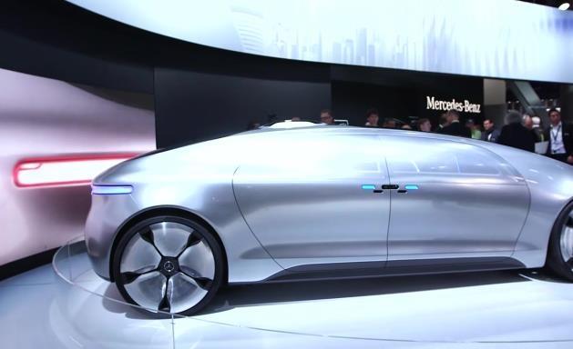 mercedes-benz concept self-driving car