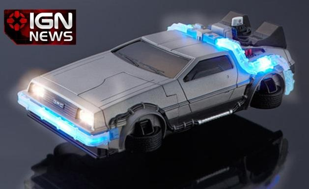 delorean iphone case