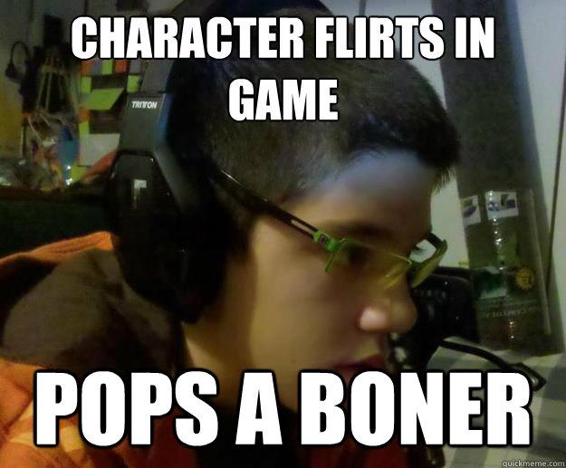 gamer boner