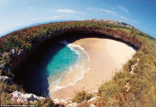 hidden beach mexico