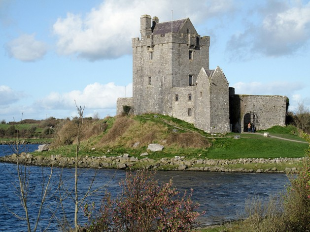 Dunguaire Castle, Galway Bay, Ireland