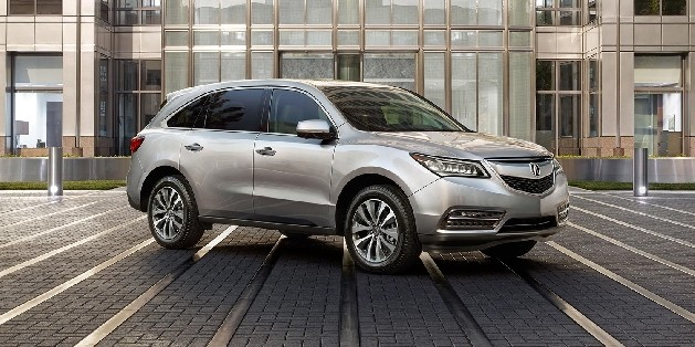 Silver 2015 Acura MDX