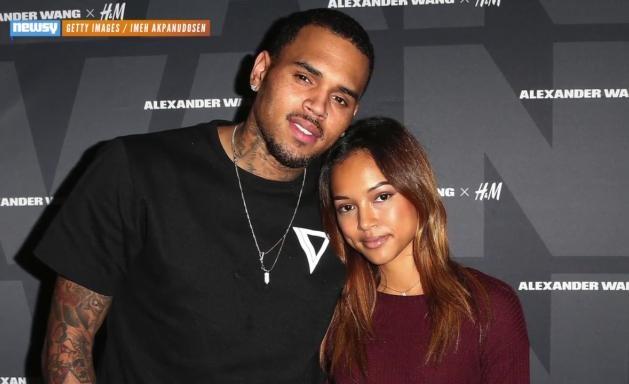 chris brown and some girl