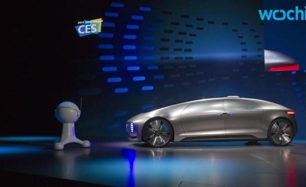 mercedes self-driving car prototype