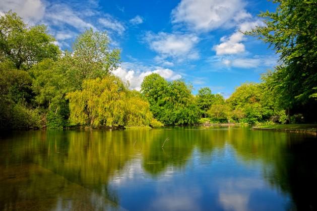 St. Stephen's Green, Dublin public park