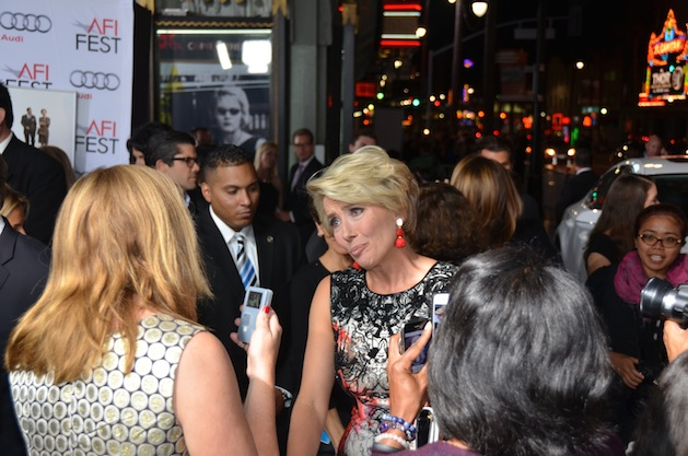 "Emma Thompson  AFI Fest 2013 - Opening Night Gala Screening of ""Saving Mr. Banks"" - Arrivals"