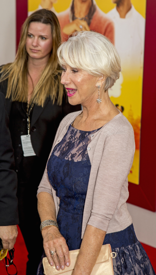"Dame Helen Mirren ""The Hundred-Foot Journey"" World Premiere - Arrivals"