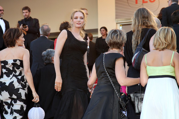"Uma Thurman 66th Annual Cannes Film Festival - ""The Immigrant"" Premiere - Arrivals"
