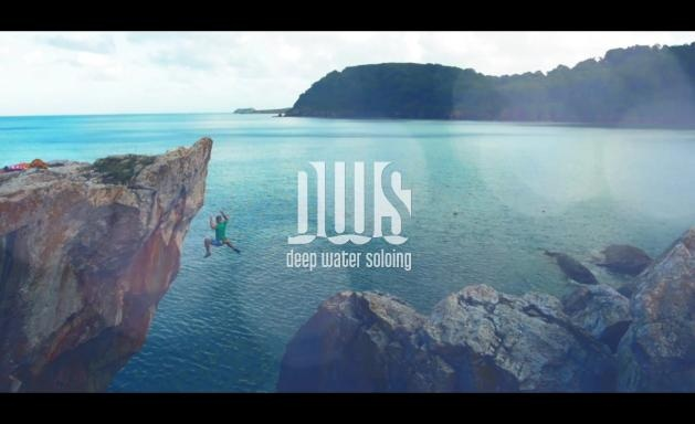 deep water soloing