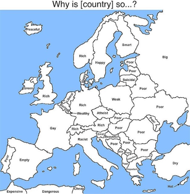 google auto complete europe map