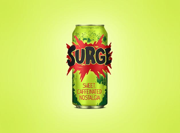 surge honest slogan