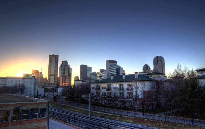 Dallas Skyline from Deep Ellum