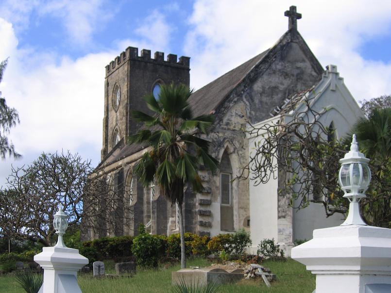 St. John Parish Church in Barbados
