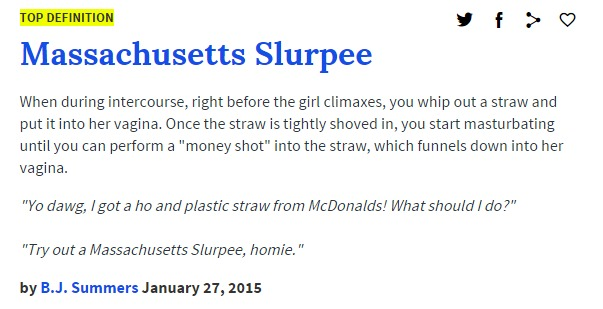 massachussetts slurpee urban dictionary
