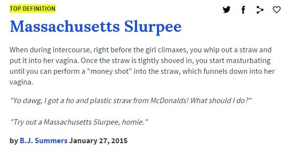 Nastiest urban dictionary words