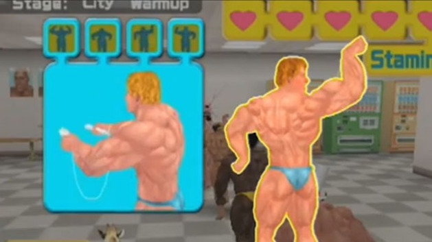 muscle march video game