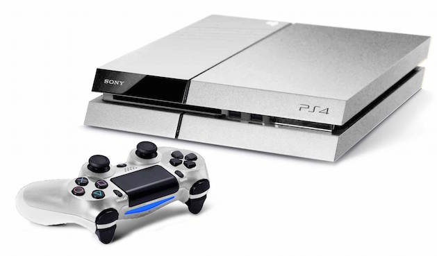 silver ps4
