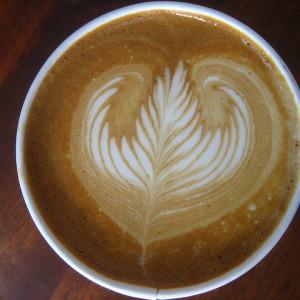 Grabbing coffee