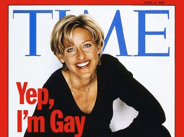 Ellen DeGeneres coming out time magazine