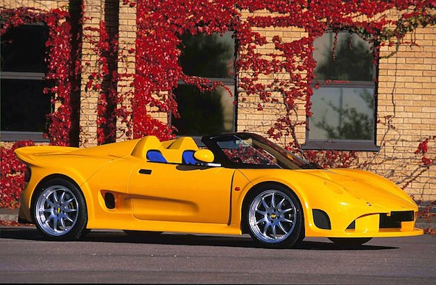 Noble M12 GTC in yellow