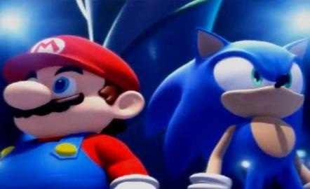 mario and sonic the hedgehog