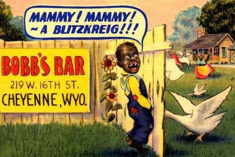 racist bobb's bar ad